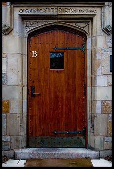 Yale University Doors Benjamin Stillman Class of 1796. Pioneer of Scientific Education. & Yale university -- The doors to the Arts Grad School was like this ...