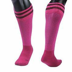 Meso Girls' 1 Pair Knee High Sports Socks for Baseball/Soccer/Lacrosse S(Rose) Football Socks, Soccer Socks, Boys Socks, Sport Socks, Men's Socks, Crew Socks, Athletic Compression Socks, Athletic Socks, Warm Socks