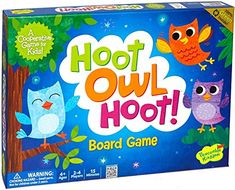 Peaceable Kingdom Hoot Owl Hoot! Cooperative Board Game P...
