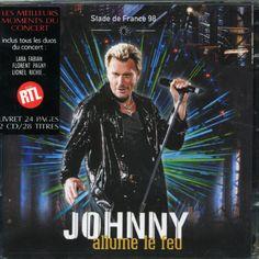 DYO Johnny Hallyday - Allume Le Feu- Stade De France 1998