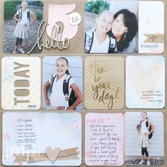 Pocket Scrapbooking ~ Heidi Swapp Project Life #hsprojectlife @jamiepate