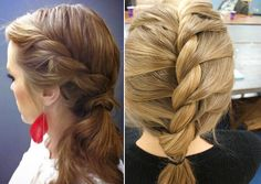 Twisted Braid Hairstyle