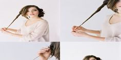 DIY Low Style Bun Hairtyle For Everyday - Toronto, Calgary, Edmonton, Montreal, Vancouver, Ottawa, Winnipeg, ON