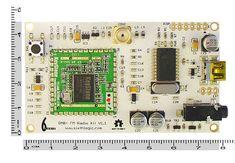 DAB+ FM Digital Radio Development Board *Monkeyboard* with ultra low power rx module