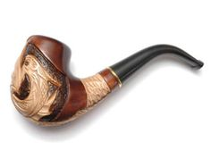 """New Exclusive Smoking Pipe """"DRAGON"""". Tobacco Pipe, Collection Smoking Pipes. Wood Pipe Carved. Wooden Handmade"""