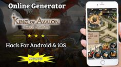 King Of Avalon Hack - Online Cheat For Android & iOS [999k Resources]