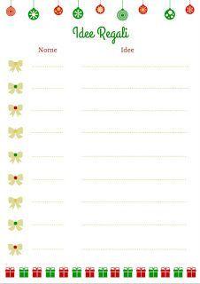 Nata disorganizzata: Avvento senza turbamento #3: raccolta di idee per regali