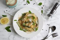 RECIPE: LINGUINI WITH ASPARAGUS Asparagus, Couture, Meat, Chicken, Recipes, Food, Haute Couture, Beef, High Fashion
