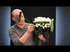 How to make Bridal Bouquet with spring flowers, Step by step. Bloomtube DIY - YouTube