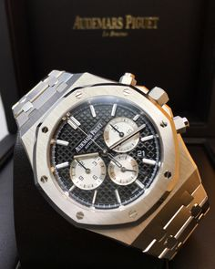 Audemars Piguet Royal Oak Chronograph Stainless Steel Black Dial 26331ST.OO.1220ST.02