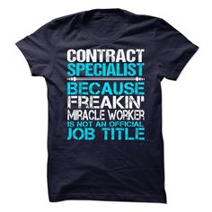 Contract Specialist T-Shirts, Hoodies. SHOPPING NOW ==► https://www.sunfrog.com/No-Category/Contract-Specialist-62955971-Guys.html?id=41382
