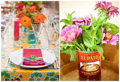 Love Mexican themed parties - so colourful!
