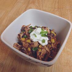 Crockpot Santa Fe Chicken - Powered by @ultimaterecipe