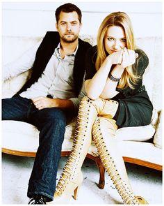 Anna Torv and Joshua Jackson - POlivia forever! Fringe!