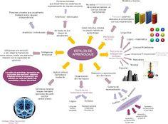 Alejandra paz: Mapa mental Estilos de aprendizaje
