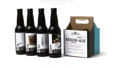Rafraîchissant : le CV pack de bières