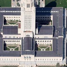 Bertram Goodhue, Nebraska State Capitol, Lincoln, NE, United States - street view