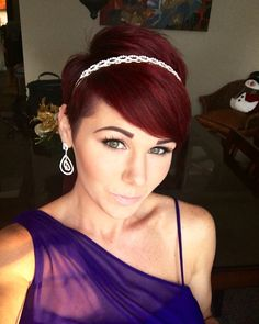 Pixies with headband!! Absolutely love adding accessories with a pixie