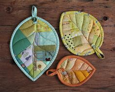 PatchworkPottery: Leaves