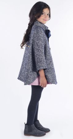 I TETE AND MARTINA COATS FOR AUTUMN-WINTER GIRL - 3 OF 3