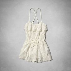 all-over lace romper from Abercrombie Kids. Saved to clothes I love. Shop more products from Abercrombie Kids on Wanelo. Abercrombie And Fitch Outfit, Abercrombie Kids Girls, Tween Rompers, Cute Rompers, Outfits For Teens, Summer Outfits, Cute Outfits, Jumpsuit Dress, Dress Skirt