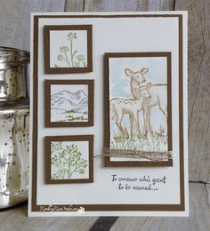 Seriously tried NOT to purchase this stamp set...now I cant stop the ideas for using it. Of course, any time a masculine card comes to mind I make it and put