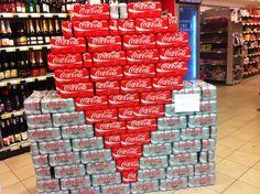 le visual merchandising de saint valentin - - c'est bête, mais il fallait y penser