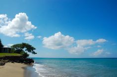 From your chaise lounge enjoy perfect views of the aqua blue sea, and let your mind drift. #beach #Nevis #Caribbean