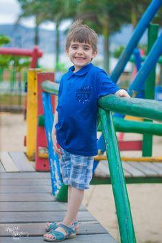 Hoje quem esta estrelando no Blog e esse garotinho que esta sempre com o sorriso no rosto e que amou ser fotografado nunca tinha fotografado...