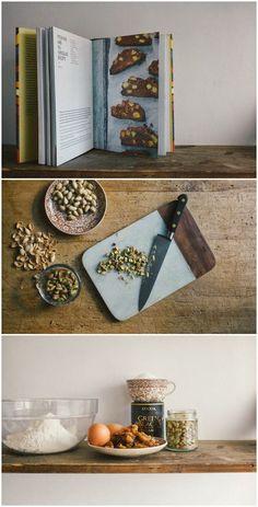 Fuggle Antics: Fig & Pistachio Biscotti