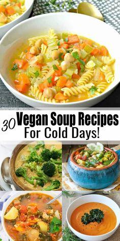 Vegan Dinner Recipes, Delicious Vegan Recipes, Lunch Recipes, Soup Recipes, Whole Food Recipes, Healthy Recipes, Cheap Vegan Recipes, Healthy Soup, Vegetarian Breakfast