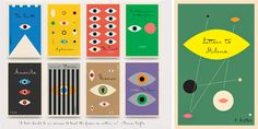A series of Kafka's books translated into English, with wonderful cover designs by Peter Mendelsund using FF Mister K.