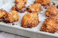 Knusprige Hähnchen Nuggets ♡ saftig, lecker / auf dem Ofenzauberer von Pampered Chef gebacken