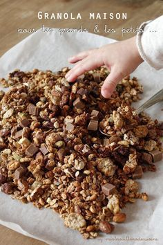 Granola my favourite recipe - Brunch Sweet Recipes, Healthy Recipes, Cooking Recipes, Eat Healthy, Super Dieta, My Favorite Food, Favorite Recipes, Food Inspiration, Breakfast Recipes
