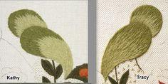 An Acorn   two stitchers