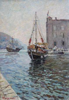 Прогулочная яхта в Дубровнике (Andrey Soldatenko)