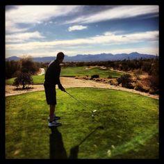 @bigd3025 putting his Tucson golf deal to good use!   The Westin La Paloma Resort & Spa