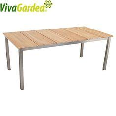 vidaXL Banc de jardin Teck 150 x 52 x 92,5 cm | Mygarden | Pinterest