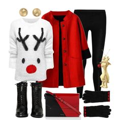 """Rudolph Sweater!"" by moreplease on Polyvore"