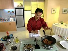 Chicken Steaks with Black Currant Sauce by Master Chef Martin Yan
