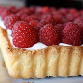 Raspberry-Classic Creme Mousseline Tart Recipe - eRecipe.com
