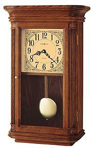 Howard Miller Westbrook Quartz Wall Clock With Oak Finish