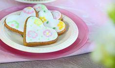 Piękne serduszka owyjątkowym smaku Sugar, Cookies, Food, Crack Crackers, Biscuits, Essen, Meals, Cookie Recipes, Yemek