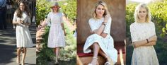 """Celebrations today as The #Duchess wears an Australian Designer Zimmermann - """"Roamer Dress"""" It is available in June as part of the Swim 2014 Collection. So save your pennies ladies, we expect it cost anywhere between $400 to $800! See the dress below on Naomi Watts #KateMiddleton #RoyalTourAus"""