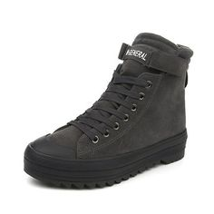 M.GENERAL Soft Solid Color Boots
