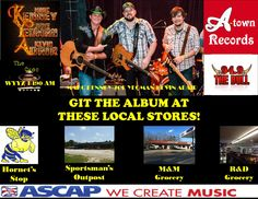 Git the album in my hometown of Opelika, AL at these stores!