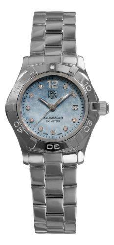 TAG Heuer Women`s WAF1419.BA0824 Aquaracer Quartz Blue Mother-of-Pearl Dial Watch ♥