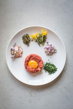Vegetarian tartar, Restaurant de Jong, Rotterdam | un-fold-ed.com