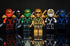 LEGO Minifigures - Ninjago | 6 Kimono Ninja Minifigures | Flickr