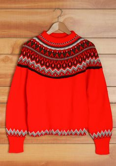 Vintage Slopes and Dreams Sweater.   #modcloth